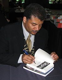Neil deGrasse Tyson (born October 5, 1958) is an American astrophysicist and science communicator. He is currently the Frederick P. Rose Director of the Hayden Planetarium at the Rose Center for Earth and Space and a research associate in the department of astrophysics at the American Museum of Natural History.