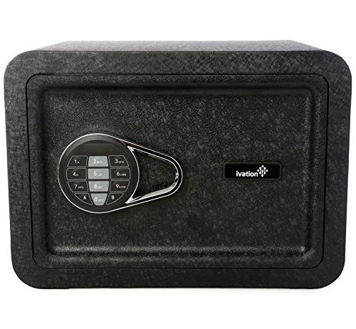 Ivation Electronic Home and Office Safe with Keypad for Pin Code Access – Includes Emergency Override Keys, Black -  http://www.wahmmo.com/ivation-electronic-home-and-office-safe-with-keypad-for-pin-code-access-includes-emergency-override-keys-black/ -  - WAHMMO