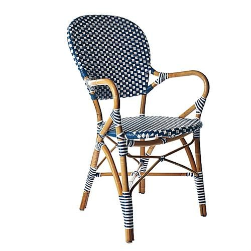 Transitional Outdoor Dining Chair from Serena & Lily stools & seats