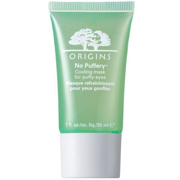 Origins No Puffery8482 Cooling Mask For Puffy Eyes (170 CNY) ❤ liked on Polyvore featuring beauty products, skincare, eye care, origin mask, dark circle eye treatment, origins skin care, brightening mask and origins skincare