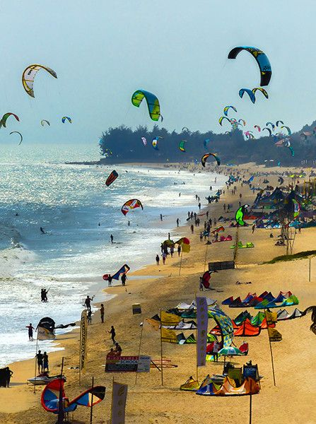 """Pinterest's Andreas Lieber said his favorite summer vacation is, """"One week kitesurfing in Mui Ne followed by a Mekong river trip to explore the greatness of Vietnam's countryside. I want to go back!"""""""