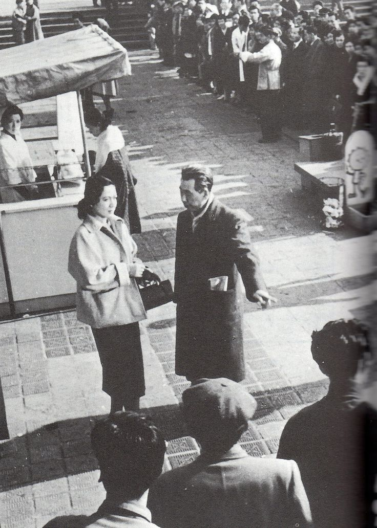 原 節子, 成瀬 巳喜男 Setsuko Hara, Mikio Naruse