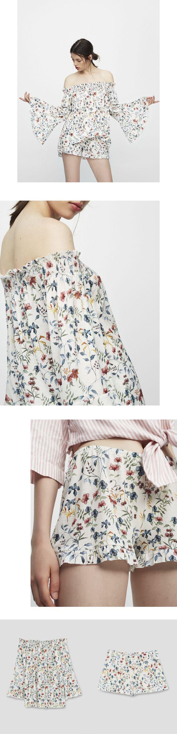 PULL&BEAR | soft floral print, Summer17 on Behance