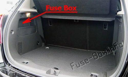 buick encore (2013-2019) < fuse box location