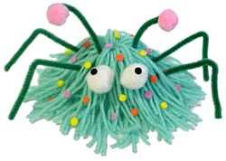 Yarn Bug  This will be the cutest bug you'll find around your house!
