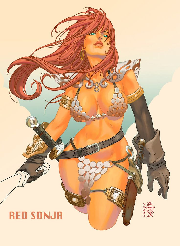 """Red Sonja"" by Welinthon L. Simeon (N0mm0) 