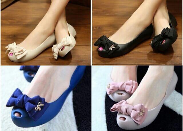 sepatu flat jelly nahda 3 - http://sendaljelly.com/2016/03/sepatu-flat-jelly-nahda-3.html