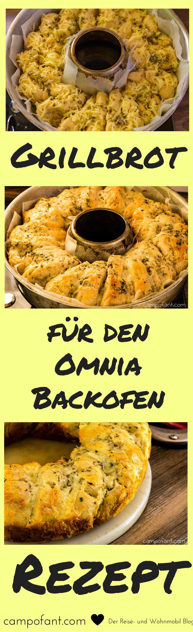 Dieses Knoblauch-Käse-Kräuter-Brot eignet sich hervorragend als Grillbrot. Super lecker, sehr würzig und richtig knusprig. So muss eine Beilage zum Grillen sein. Aber auch als Snack eignet sich dieses Brot mit Knoblauch, Käse und Kräutern ganz wunderbar. Dieses Rezept ist speziell für den Omnia Backofen ausgelegt. Das ideale Brot beim Camping.