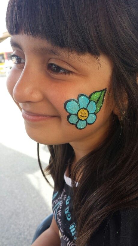 Face Paint Flower Ideas