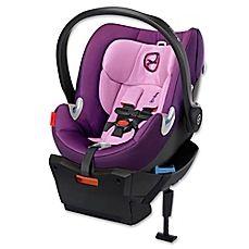 image of Cybex Platinum Aton Q Infant Car Seat in Grape Juice