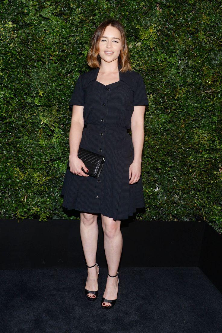 February 27: Chanel and Charles Finch Pre-Oscar Dinner - 0227 preoscardinner 0003 - Adoring Emilia Clarke - The Photo Gallery