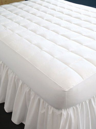 Sferra Brothers Arcadia King Mattress Pad by Sferra Brothers. $280.00. The foundation of a good night's sleep starts at your mattress, or, at your mattress pad. These soft and comfortable mattress pads feature Pluma-Fil down alternative encased in a pure white cotton sateen ticking. Small baffles give soft and cushioning comfort. These mattress pads are generously cut to fit all sizes of modern mattresses. Sizes Twin Mattress Pad: 28 oz. Twin X-Long Mattress Pad: 38 oz. F...