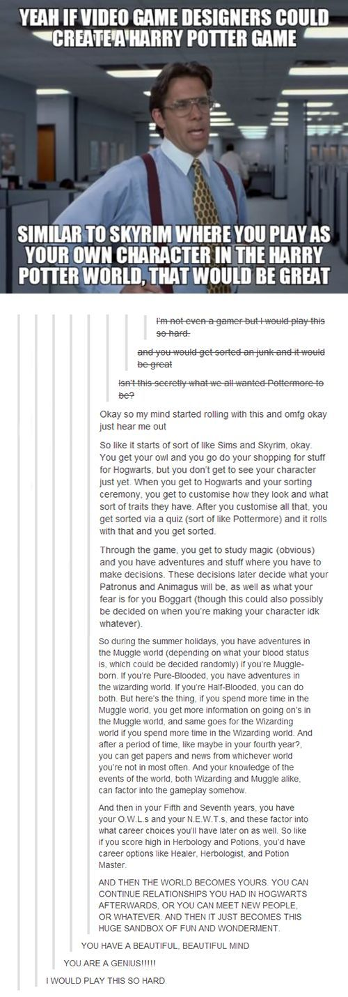 dump of my favorite Harry Potter fandom ramblings and theories - Imgur