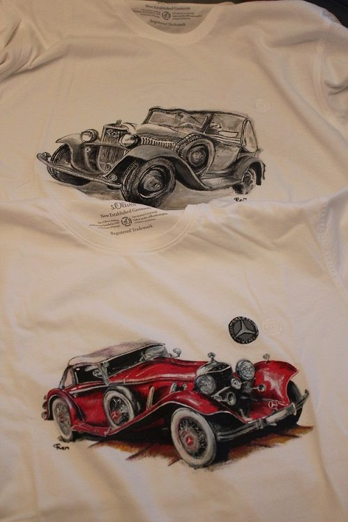 painted shirt, handmade, men