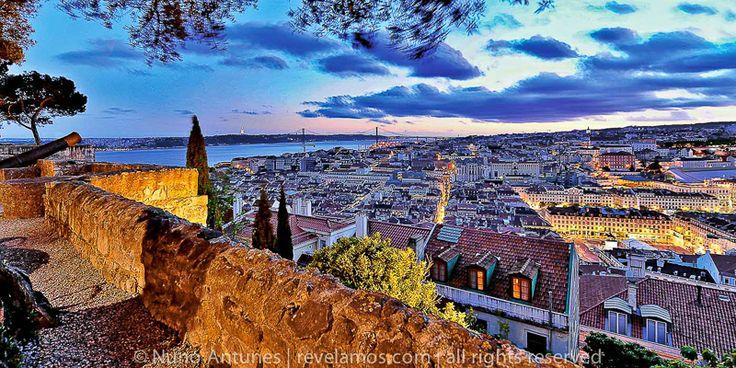 Portugal - Lisboa / Vista do Castelo  ©Nuno Antunes