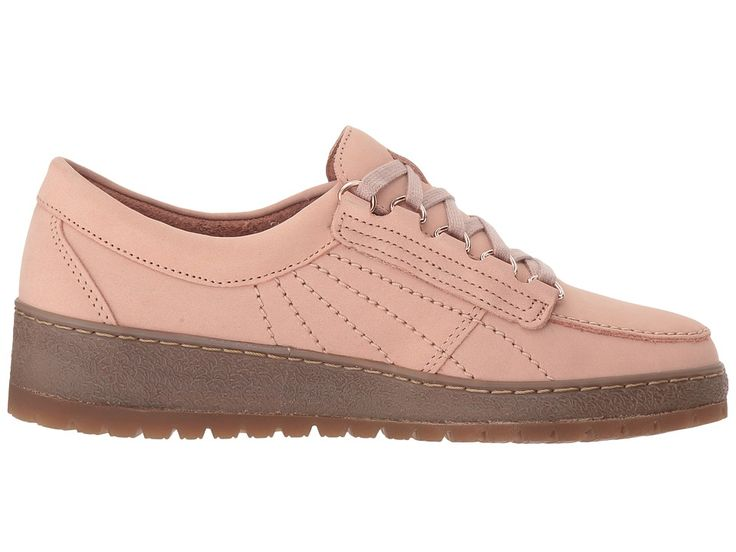 Mephisto Lady Women's Lace up casual Shoes Pink Nubuck/Nude Magic