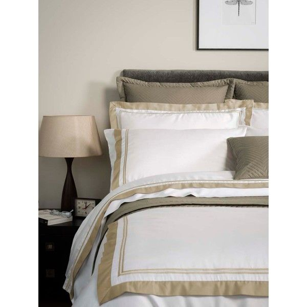 Christy Coniston King Duvet Cover In Linen ($54) ❤ liked on Polyvore featuring home, bed & bath, bedding, duvet covers, modern duvet, linen duvet, modern bed linen, super king bedding and linen bedding