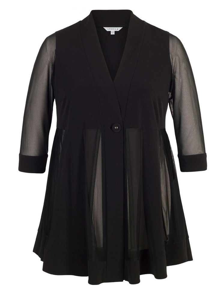 Buy your Chesca Mesh & Jersey Panel Jacket online now at House of Fraser. Why not Buy and Collect in-store?