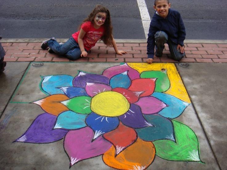 2011 Sidewalk Chalk Festival Forest Grove, OR