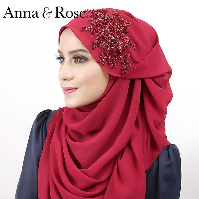 New Arrival #Sofea Beaded Shawl - romantique red Exquisite handstitched lace and 3D beads detailing on soft, cooling, double baby-hem edged chiffon makes one beautiful Sofea Beaded Shawl. . Perfect for any occasion, the shawl is effortlessly elegant and created with so much love! . Available at #HBseribangi, #HBmeruipoh, www.hanabella.com.my ❤️