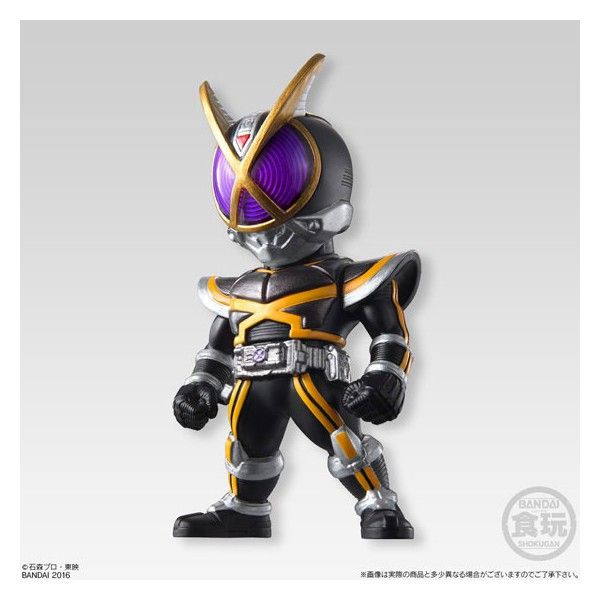 The distinctive Diforume popular Candy [CONVERGE] series, Kamen Rider series is imposing war! - Overwhelming density sense of detail, shine of metallic colored, rider compound eye or the like of which has been reproduced in clear, we will three-dimensional and concentrated attention to the figure of the total height of about 60mm. - The first bullet [Masked Rider] [Kamen Rider 555] all seven types of structural specializing in memorable (including two secret). - To pursue the collectio...