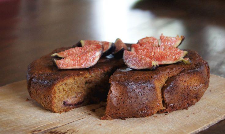 Suikervrije en Glutenvrije Taart met Vijgen - Focus on Foodies
