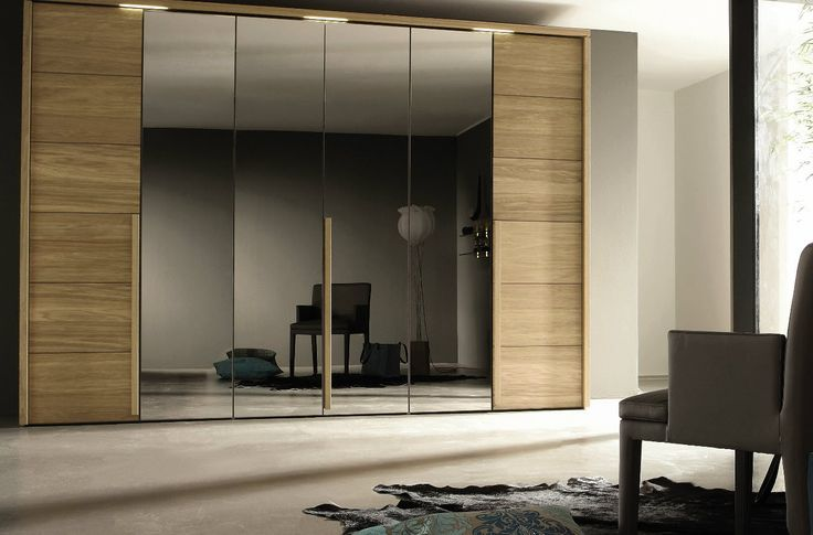 Furniture-Beautiful-wooden-glass-laminate-large-wardrobe-design-inspiration-with-floor-up-to-ceiling-high-in-contemporary-bedroom-decor-impressive-lavish-bedroom-wardrobes-and-modern-closets