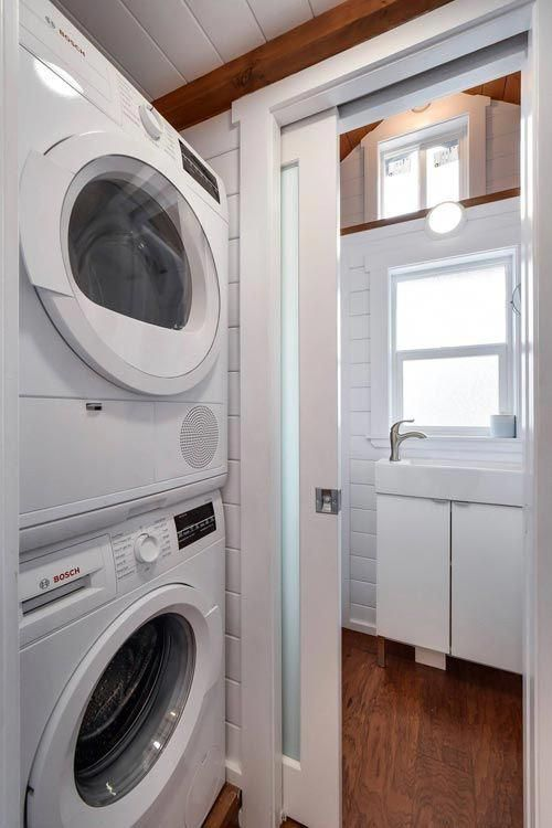 Stackable Washer/Dryer Custom 30' by Mint Tiny Homes