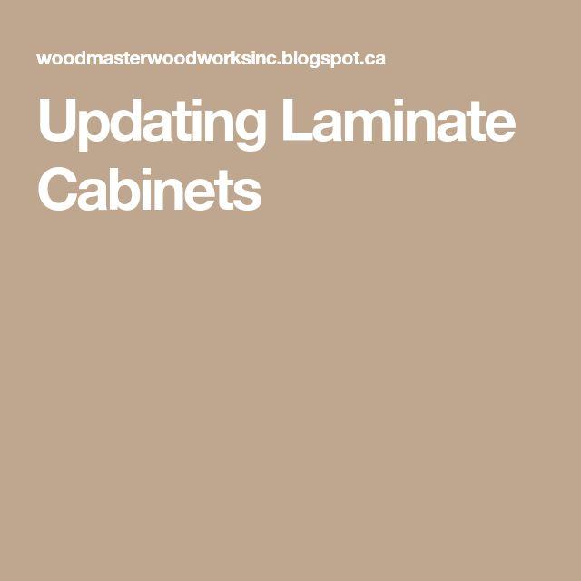 Best 25+ Laminate Cabinet Makeover Ideas On Pinterest