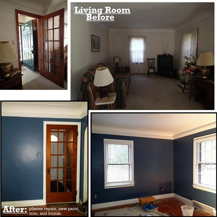 Our Living Room Before After Paint Color Behr English Channel