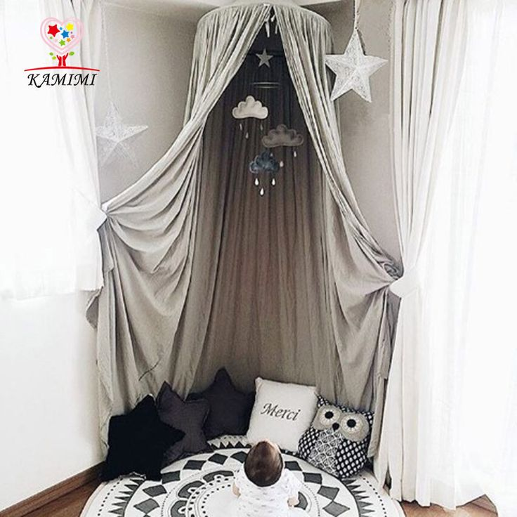 Baby bed curtain KAMIMI Children Room decoration Crib Netting baby Tent Cotton Hung Dome baby Mosquito Net photography props-in Crib Netting from Mother & Kids on Aliexpress.com | Alibaba Group