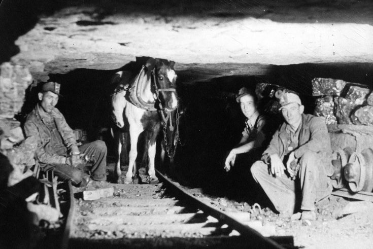 inside a coal mine courtesy of appanoose county historical society 1763x1177 Coal Mine History