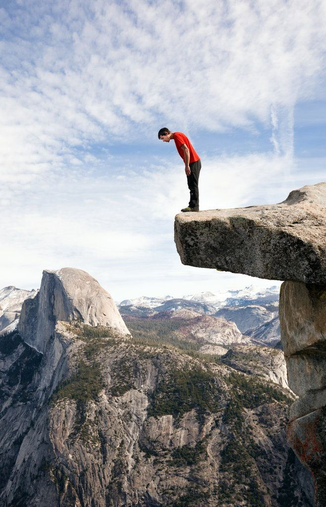The Heart-Stopping Climbs of Alex Honnold: The master of climbing without ropes spends his life cheating death.