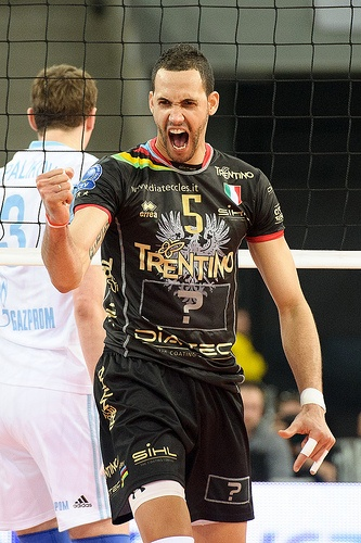Osmany Juantorena from Cuba. Plays in Trentino (Italy) Volley Team - Picture Mariusz Pałczyński #Volley People