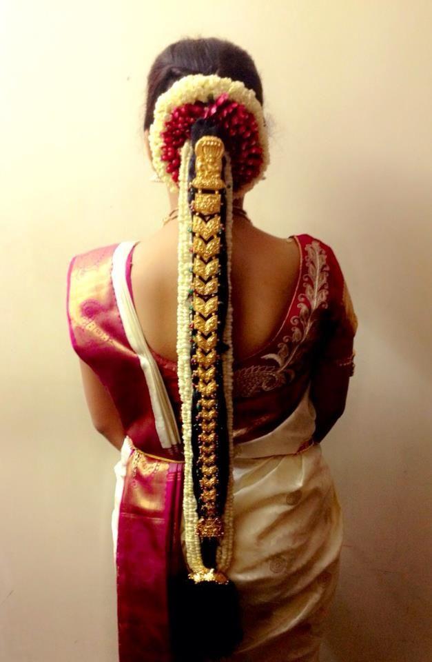 South Indian Bride Bridal Hairstyle Southindian Wedding Hindu