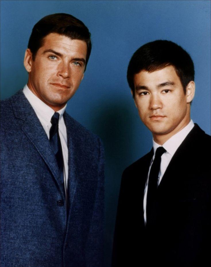 Van Williams as 'The Green Hornet/Britt Reid' & Bruce Lee as 'Kato' in The Green Hornet (1966-67, ABC)