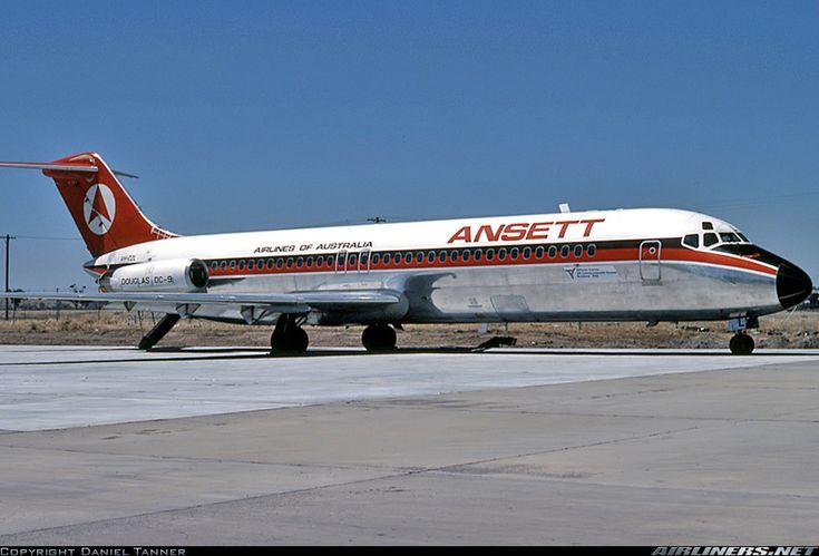 Ansett DC-9 VH-CZL