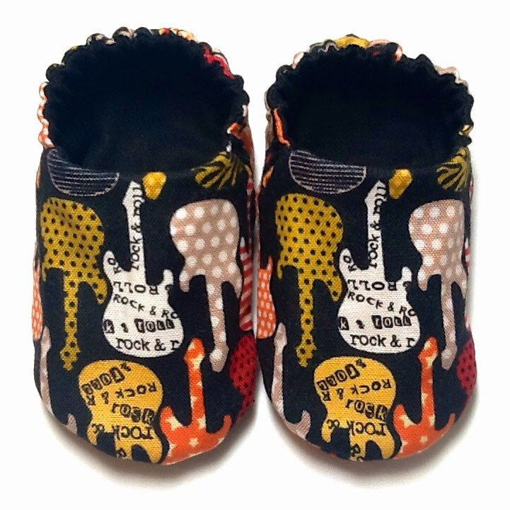 Rocker Star Baby Shoes!!