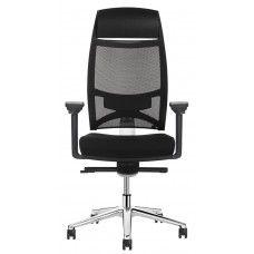 Sitflex Pro Air bureaustoel stof met hoofdsteun