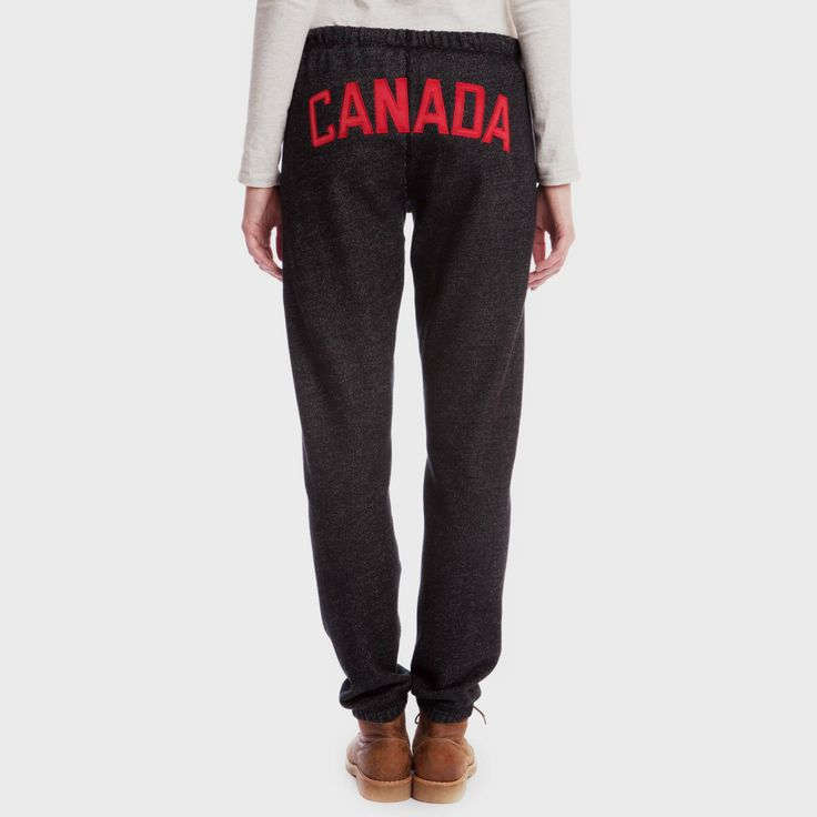 Canada Slim Fit Sweatpant | Women's Bottoms Sweatpants | Roots