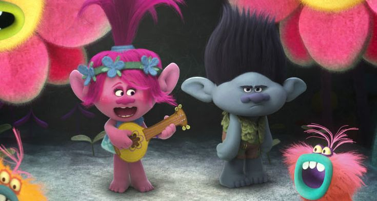 Trolls DreamWorks Characters | TROLLS - Trailer for DreamWorks Animation's Latest • Movies.ie ...