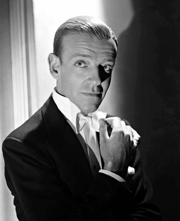 Fred Astaire,, one of the ballroom dancers.