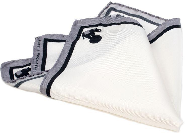 POCHETTE ELEFANTINI  Pochette stampata in twill di seta 100% Dimensione in cm: 30×30  Prodotto Made in Italy