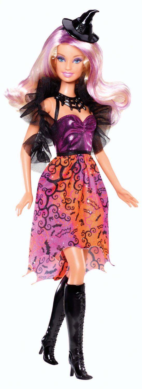AmazonSmile: Mattel Barbie 2013 Halloween Barbie Doll: Toys & Games