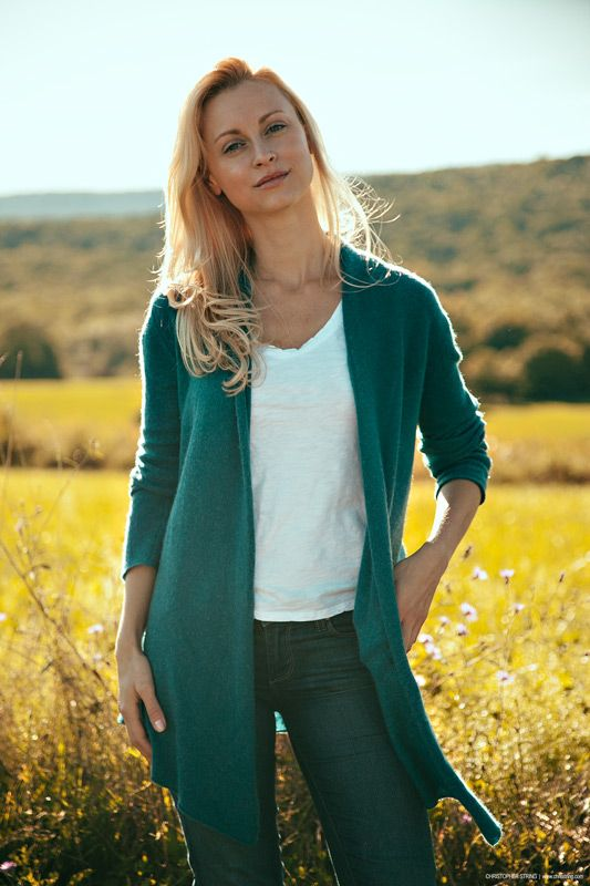 Through the Lens: Kristy Rao, Health Coach   Christopher String - like the easy styling here & colour