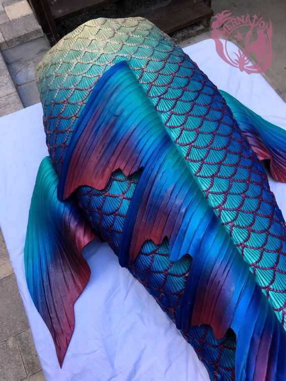 Signature Line Full Silicone Mermaid Tail by MerNation on Etsy