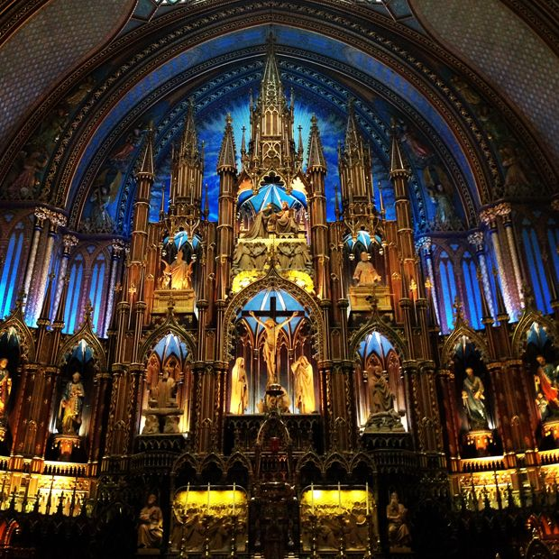 10 Things to Do in Montreal (Some of these don't seem worth while - keeping it for the restaurant suggestions and basilica.)