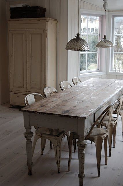 15 best narrow dining tables images on pinterest Narrow farmhouse table plans
