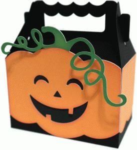 cute pumpkin box by Nilmara Quintela