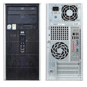 Calculatoare second hand  HP/Compaq DC5800/Dual Core 2.5G/2G/160G/DVDRW/Tower #calculatoaresecondhand #calculatoaresh